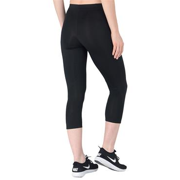 NIKE WOMENS PRO TIGHT FIT LEGGINGS - BLACK