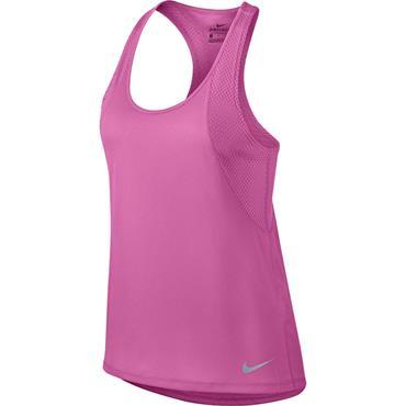 Nike Womens Breahe Tank Top - Pink