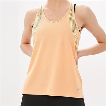 Nike Womens Breath Tank Top - Orange