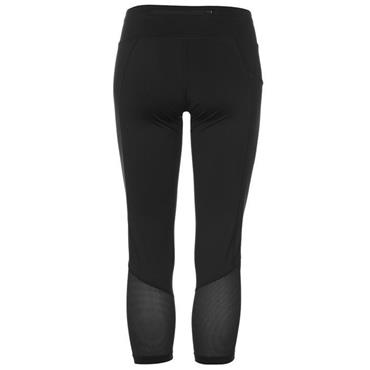 NIKE WOMENS RACER CROP LEGGING - BLACK