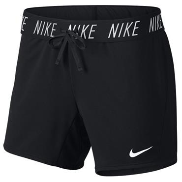 Nike Womens Dri-Fit Training Shorts - BLACK