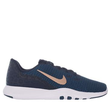 WOMENS FLEX TRAINER 7 PRINT - NAVY