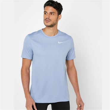 Nike Mens Breathe Running T-Shirt - Blue