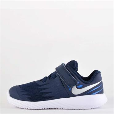 NIKE INFANT STAR RUNNER - BLUE/WHITE