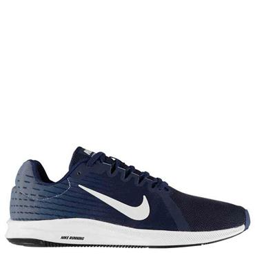 NIKE MENS DOWNSHIFTER TRAINERS - BLUE/WHITE