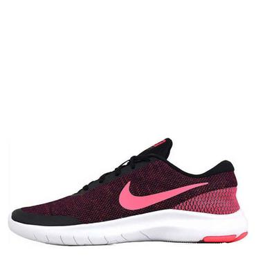 Nike Womens Flex Experience Run 7 Runners - Black/Pink