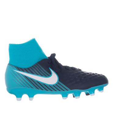 JR MAGISTA ONDA II DF FG FBALL BOOT - NAVY/BLUE