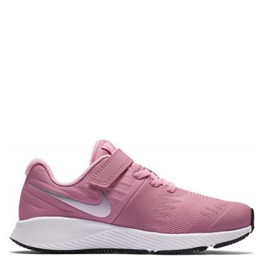 NIKE GIRLS STAR RUNNER PSV TRAINER - PINK/WHITE