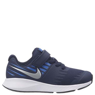 NIKE BOYS STAR RUNNER PS - BLUE/WHITE