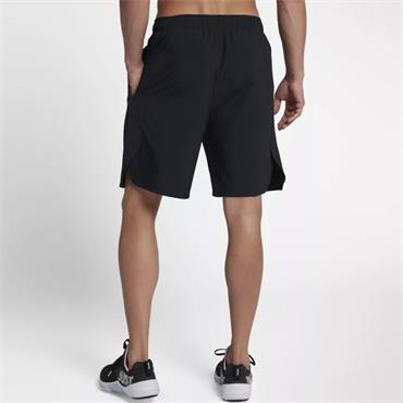 NIKE MENS WOVEN TRAINING SHORTS - BLACK