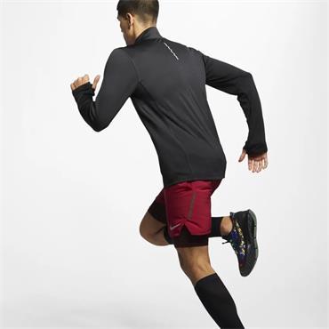 Nike Mens Pacer Half Zip Running Top - BLACK
