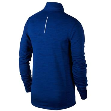 Nike Mens Racer Half Zip Top - Blue