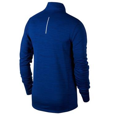 Nike Mens Racer Half Zip Top - Blue