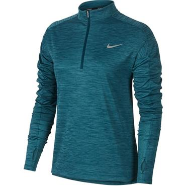 Nike Womens Pacer Long Sleeve Top - Blue