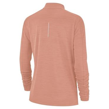 Nike Womens Half Zip Running Top - Pink