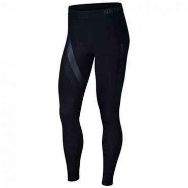 Nike Womens Stripe GRX Leggings - Black
