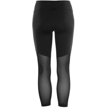 NIKE WOMENS FLY VICTORY CROPPED LEGGINGS - BLACK