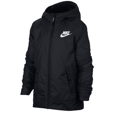Nike Kids Sportswear Coat - BLACK