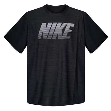 MENS BREATH TRAINING T-SHIRT - BLACK