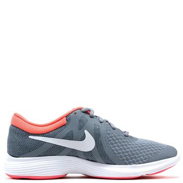 Nike Kids Revolution 4 GS Runners - Grey/Pink