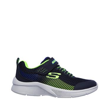 Skechers Boys Microspec Gorza Trainers - Navy