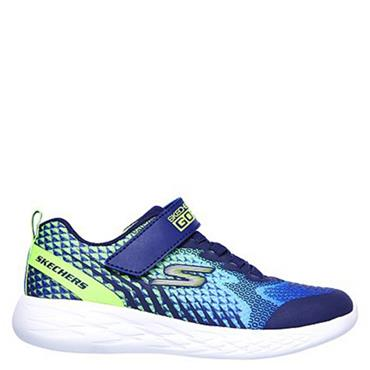Skechers Boy's Go Run 600 Trainers - Navy