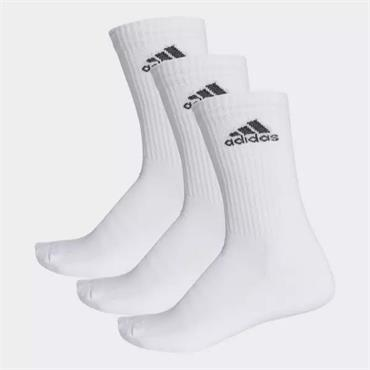 Adidas Socks 3 Pack - White