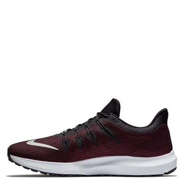 NIKE MENS QUEST TRAINERS - BLACK/RED