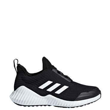 ADIDAS KIDS FORTARUNK TRAINERS - BLACK/WHITE