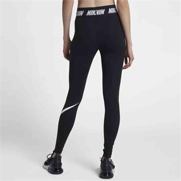 Nike Womens Sportswear Leggings - BLACK