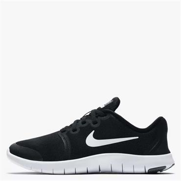 NIKE FLEX CONTACT 2 TRAINERS - BLACK/WHITE