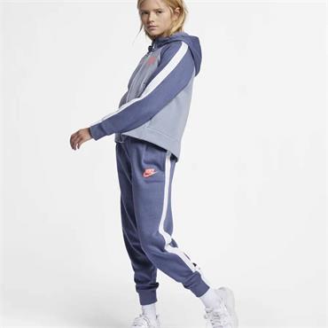 Nike Girls Sportswear Tracksuit - Blue