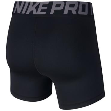 Nike Womens Pro Training Shorts - BLACK