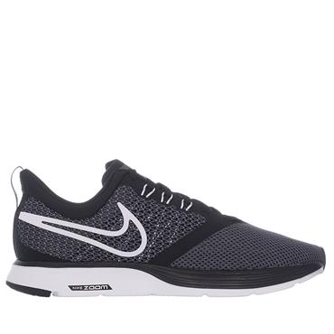 WOMENS ZOOM STRIKE BLACK AND GREY - BLACK