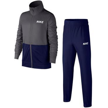 Nike Boys Poly Tracksuit - Navy