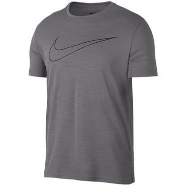 Nike Mens Breathe Dri-Fit T-Shirt - Grey