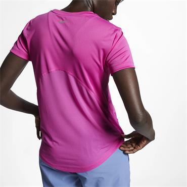 Nike Womens Miler T-Shirt - Pink