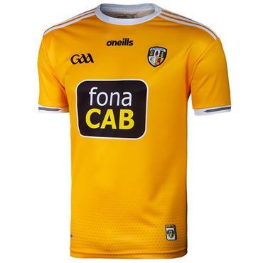 O'Neills Adults Antrim GAA Home Jersey 19/20 - Yellow