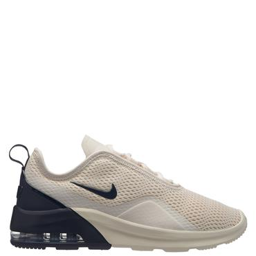 Nike Womens Air Max Motion 2 Runners - Cream/Black