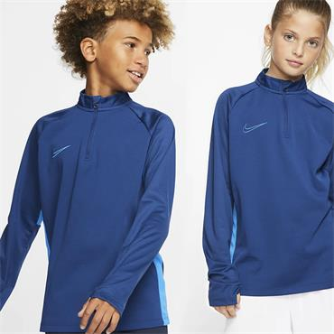 Nike Kids Dri-Fit Academy Half Zip Top - Navy