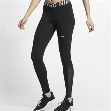 NIKE WOMENS PRO LEGGING - BLACK