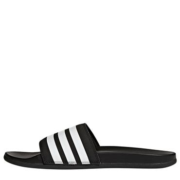 Adidas Adilette Cloudfoam Plus Slides - BLACK