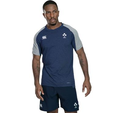Canterbury Mens Ireland Vapodri Cotton Training Tee - Navy