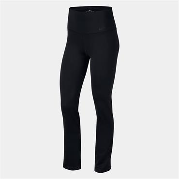 NIKE WOMENS DRY LEGGINGS - BLACK