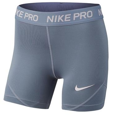 Nike Girls Pro Training Shorts - Grey