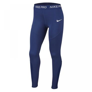Nike Girls Traning Leggings - Navy