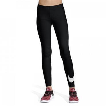 Nike Girls Sportswear Leggings - BLACK