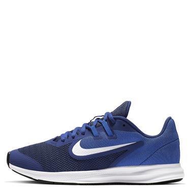 Nike Kids Downshifter 9 GS Runners - Blue