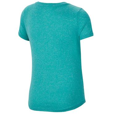 Nike Girls Dri-Fit Training T-Shirt - Turquoise