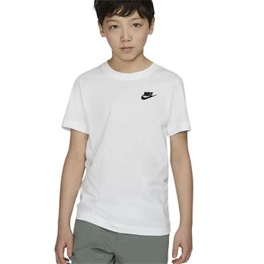 Boys Nike Sportswear Tshirt - WHITE